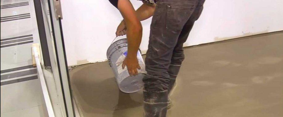мокрая стяжка полов в Одессе